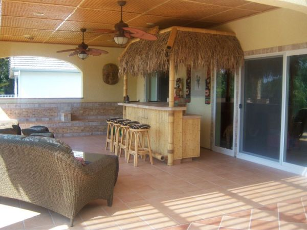 tiki time yard ideas