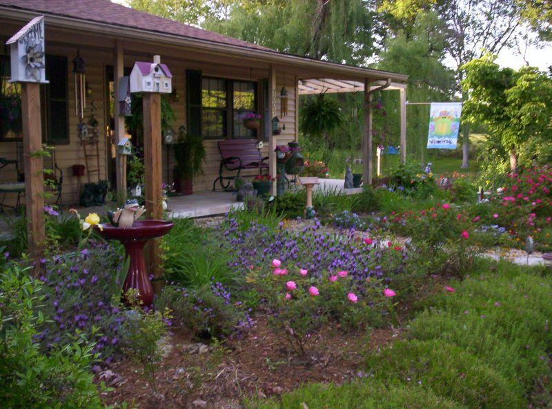 Cottage Garden Ideas With Different Design Elements Interior