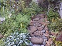 River Rock Garden Ideas - Modern Home Exteriors