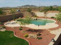 Deserts Landscapes, Mulch Around Pools, Pools Decks