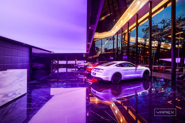 RKK Luxury Car Showroom. Interior photography for Curve, Bangkok, Thailand 2