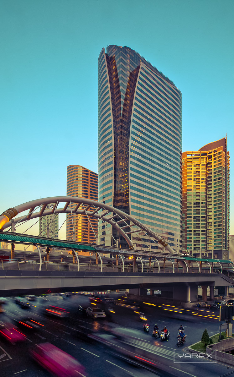 Bangkok Sathorn Building architecture photography 1