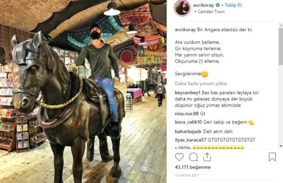 Sanatçı At Sahipleri kervanına 'o' da katıldı