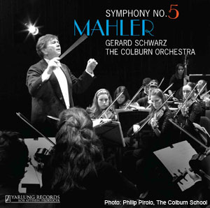 Mahler Symphony No. 5 CD Cover