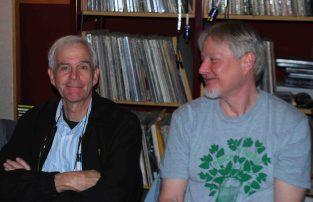 Yarlung Artists board member Gary Hollander with Joe Romer