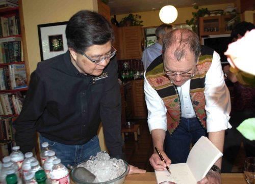 Gary Koh and Adam Gilbert discuss Pythagoras and corresponding Medieval and Renaissance symbolism