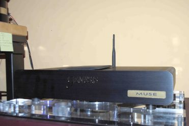 "The ""Muse"" music server from Genesis, which played our 256fs DSD files and converted into analog. The sound was superb"