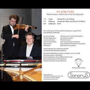 Petterri Iivonen | Art of the Violin | SonoruS