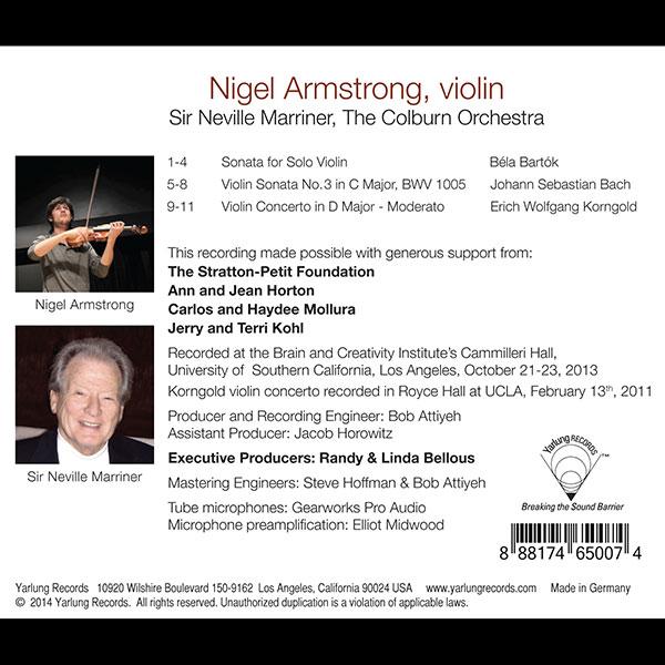 Nigel Armstrong | Sir Neville Marriner