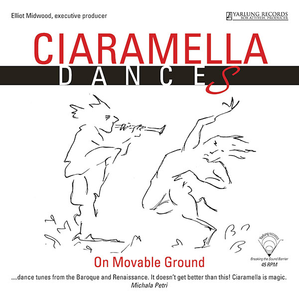Ciaramella Dances On Movable Ground LP Cover