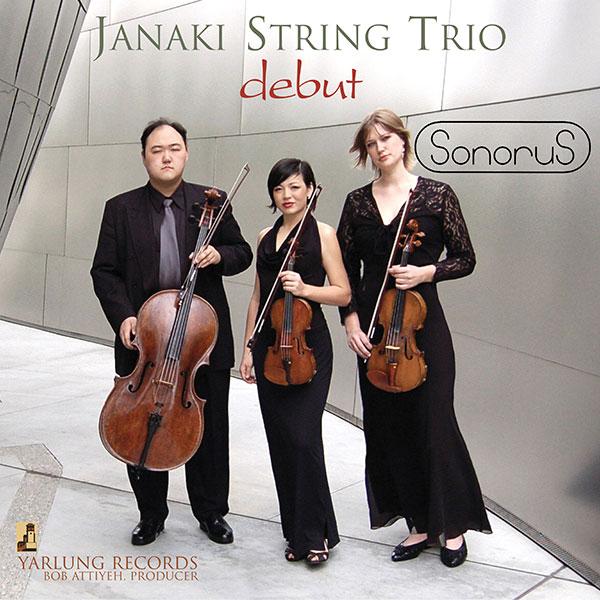 Janaki String Trio Debut SonoruS