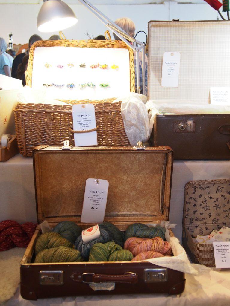 Wolle im Koffer, Wollmarkt Vaterstetten