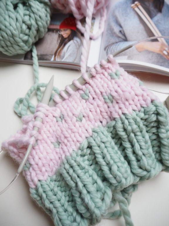stricken, Susi Strickliesl, knit happens, Mütze Molly, Buch