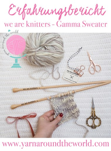 Erfahrungsbericht we are knitters Gamma Sweater
