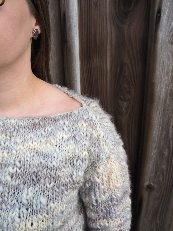 Erfahrungsbericht we are knitters, Gamma Sweater, Pullover stricken