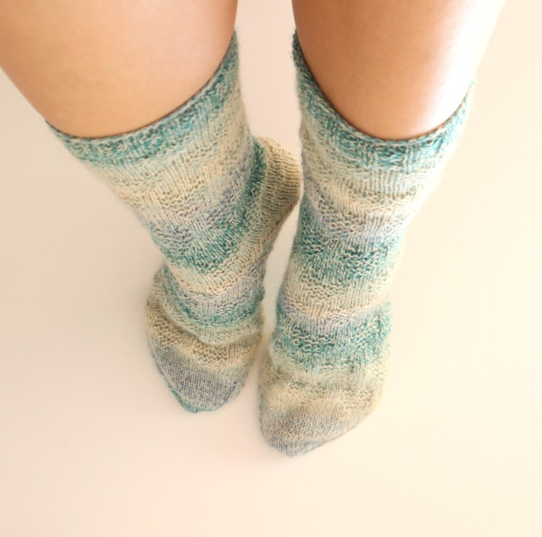 Socken stricken, Herzsocken, Tanja Steinbach, stricken