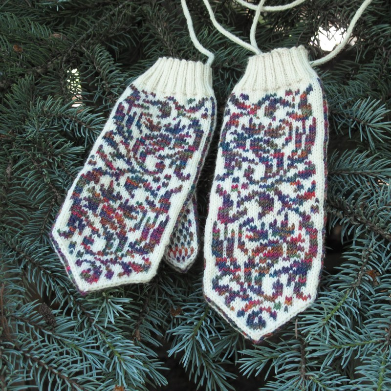 Forest Fairytale Mittens