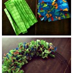 Rag Wreath Tutorial – YarnHookNeedles