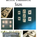 DIY Rustic Farmhouse Signs – 3 options!