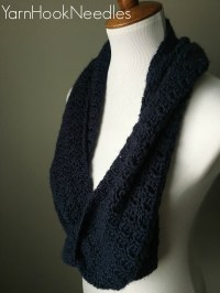 Crochet Infinity Scarf with FREE Pattern Link | A One ...