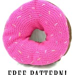 Giant Donut Pillow with FREE Pattern! – Yarn|Hook|Needles