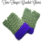 TMNT Two-Finger Crochet Gloves with Pattern!!! – Yarn|Hook|Needles