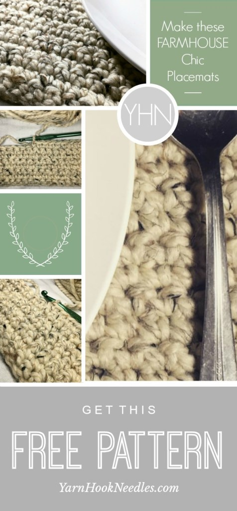 The Perfect Crochet Placemat With A Farmhouse Style