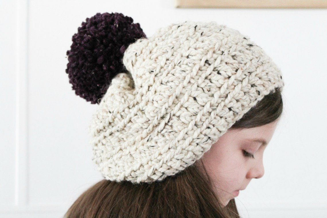 Lazy Sunday Crochet Beanie - MAKE THIS IN LESS THAN 1 HOUR! 896673d927b