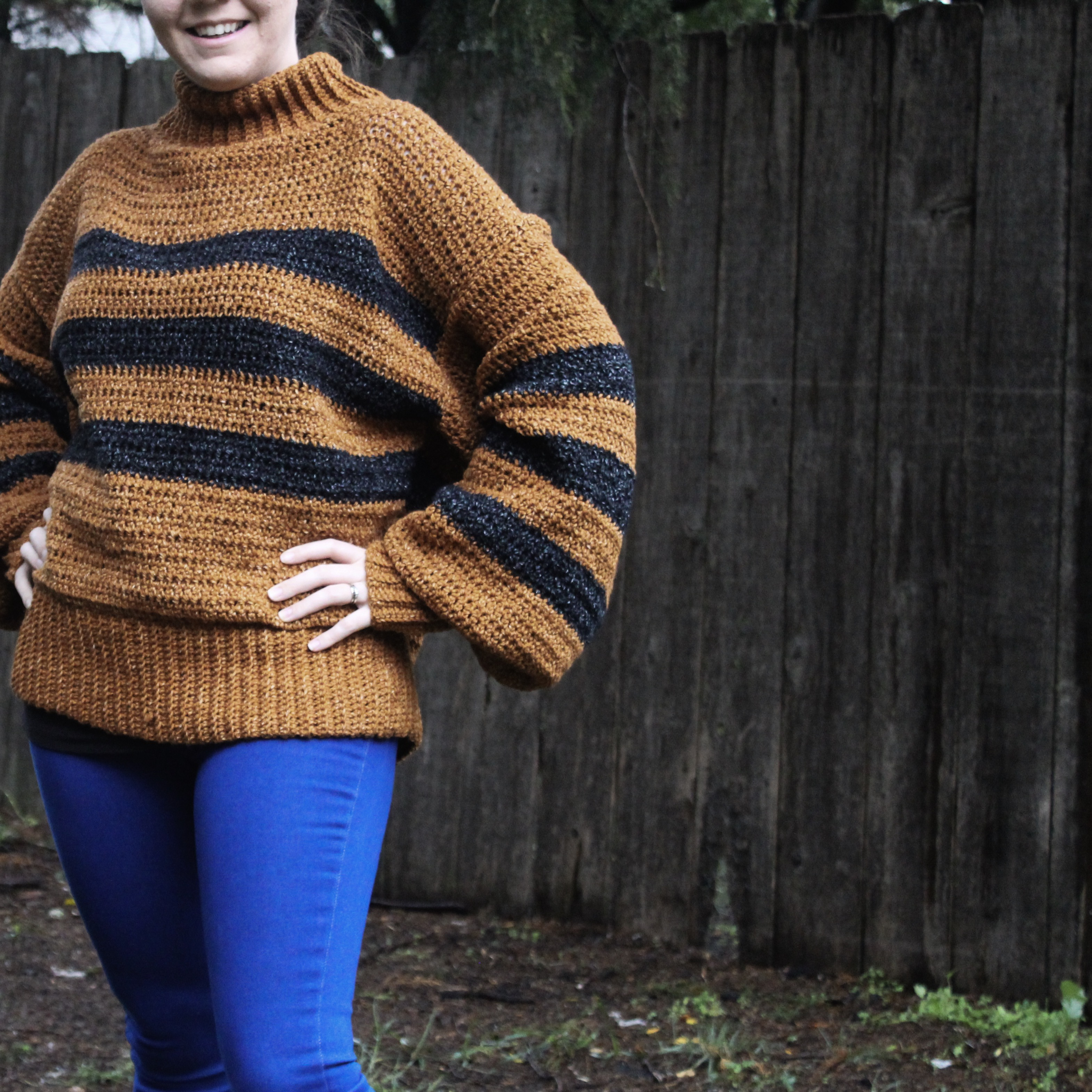 Make This Cozy Calico Sweater With This Pattern!