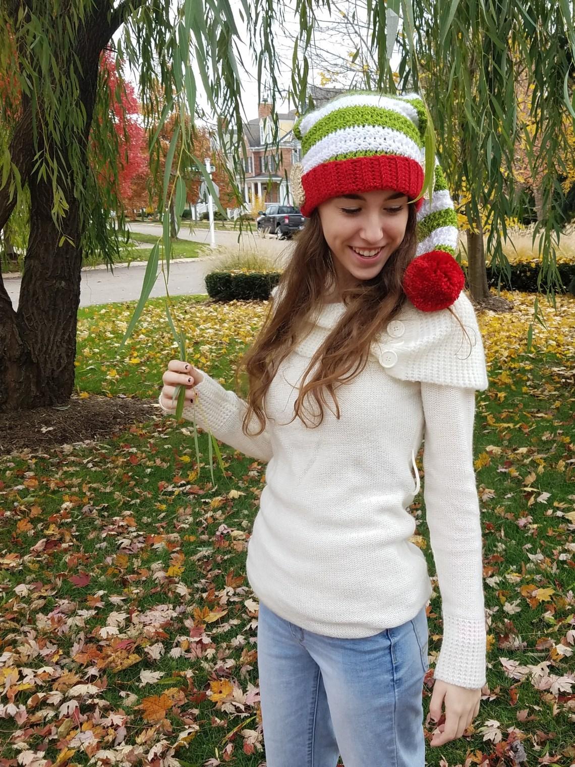 5035e6559 Star Stitch Crochet Elf Hat FREE Pattern