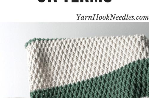 e29122bf5ac The Alpine Blanket Crochet Pattern – U.K. Crochet Terms
