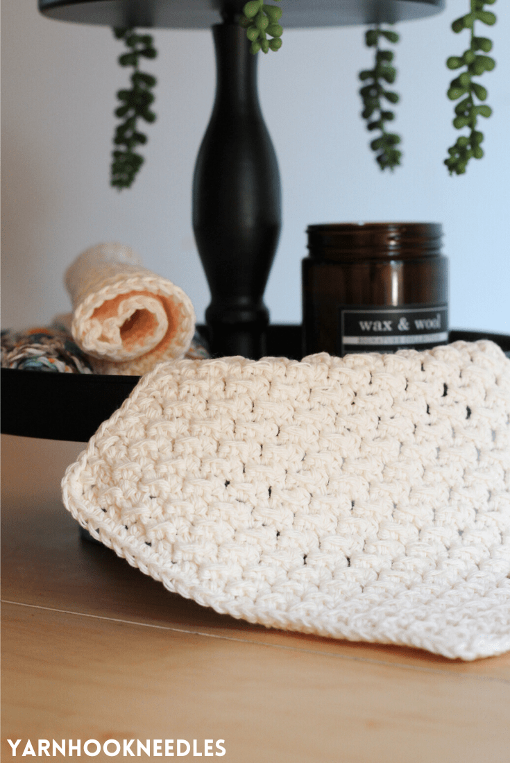 Make These Crochet Kitchen Rags!