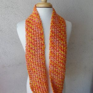 Sunrise Knit Scarf