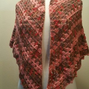 Falling Leaves Crochet Shawl