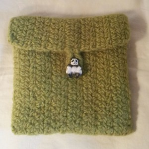 "Olive Felted ""envelope"""