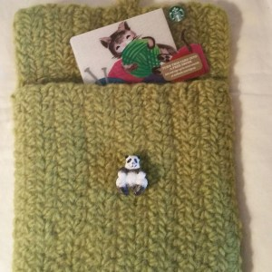 Felted Gift Card Envelope (wallets)