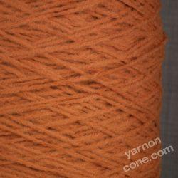 soft quality 4 ply dk double knitting wool blend knitting yarn on cone rust orange