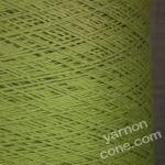 4 ply Italian pure cotton yarn cone pistachio green