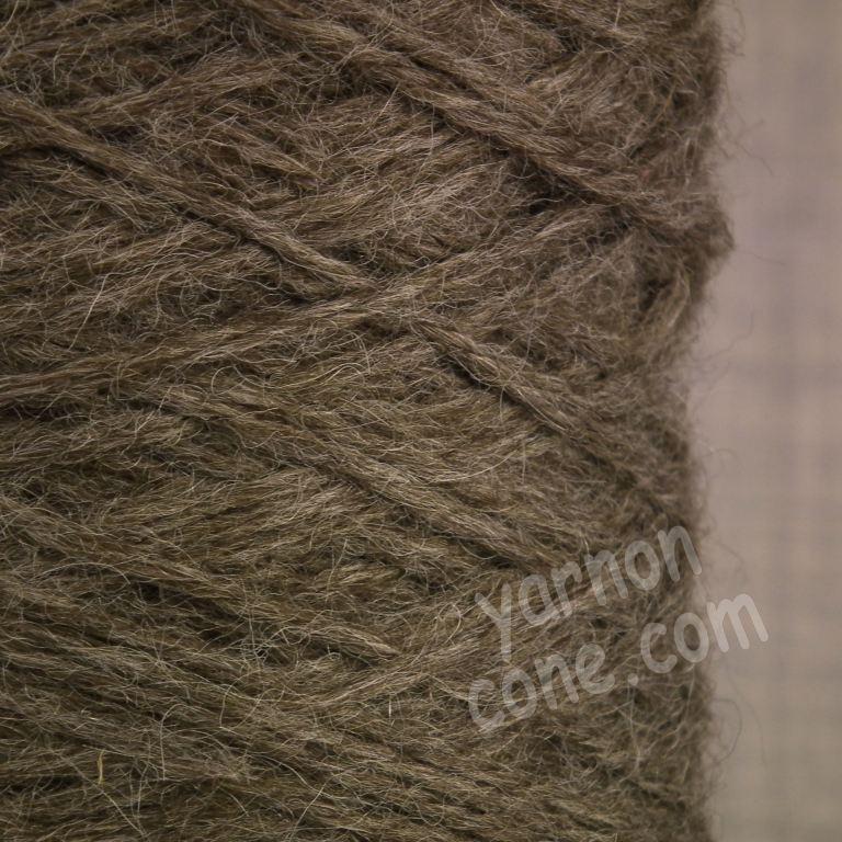 alpaca merino wool yarn aran weight soft knitting oatmeal brown