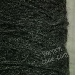 alpaca merino wool yarn aran weight soft knitting medium grey