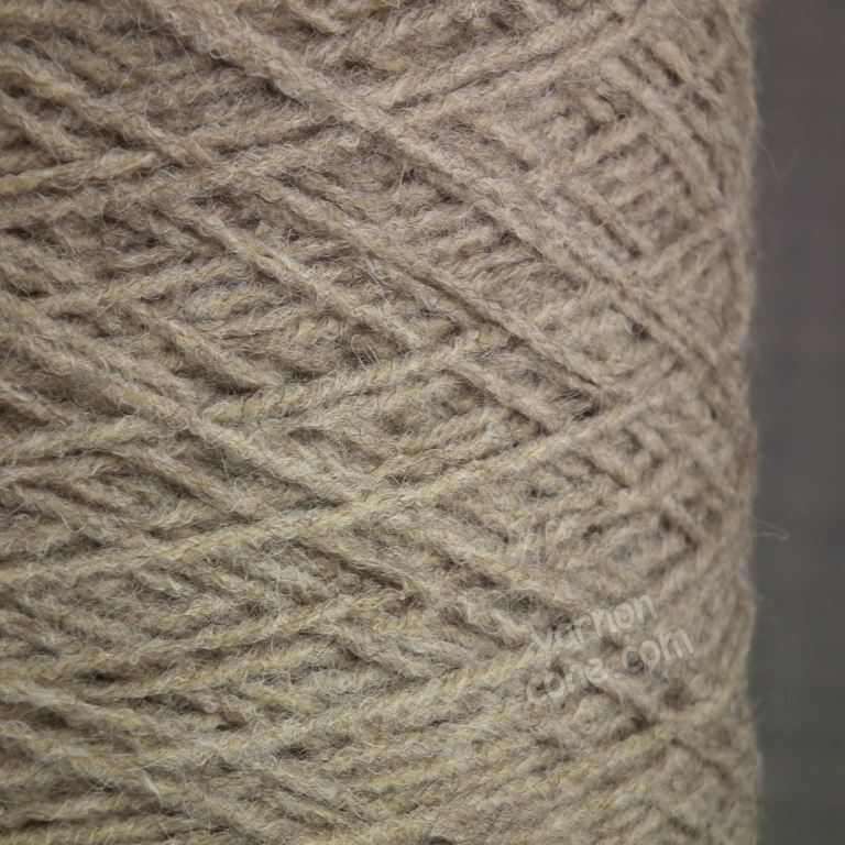alpaca merino wool blend soft 4 ply hand and machine knitting yarn on cone uk light taupe brown