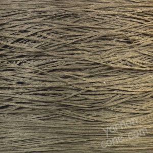 dark taupe tape yarn fettucina cone 4 ply knitting machine yarn hand knitting coned yarn uk