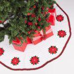 Red Heart Crochet Tree Skirt Yarnspirations