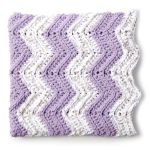 Bernat Simple Chevron Baby Blanket Pattern Yarnspirations