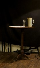 Orienteering-Theatre-Performance-Cafe-Kino-Bristol-Stage-Props-Table-Jug-Water