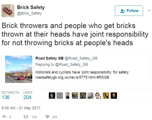 Brick Safety: it's everyone else's business