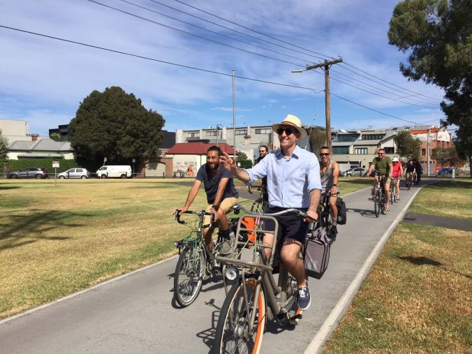National Freestyle Cyclists 'Stop Fining Healthy Transport' ride