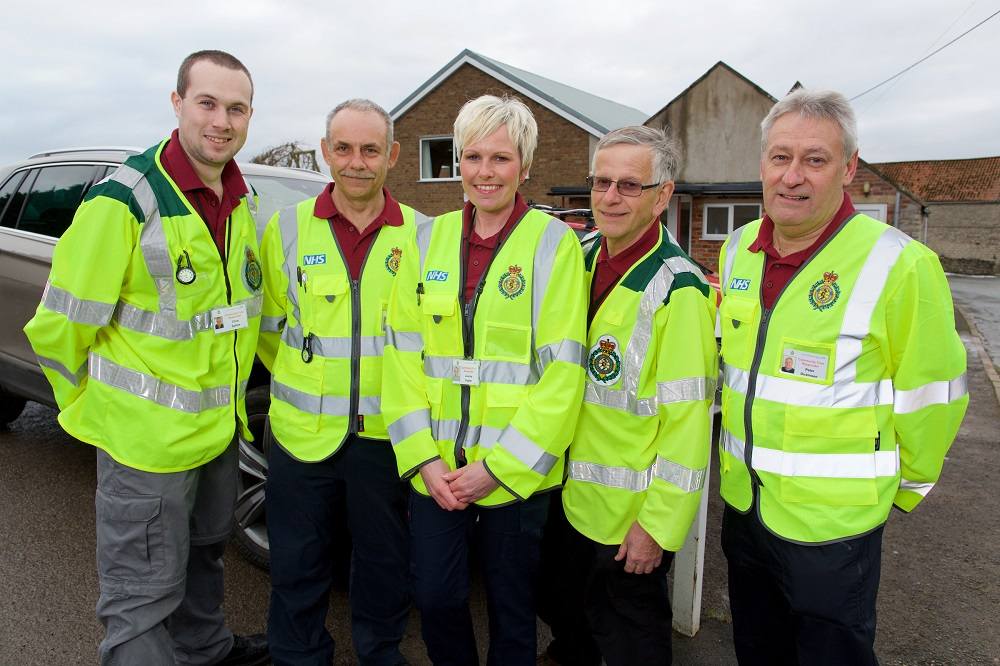 Make the difference and volunteer as a Community First Responder in Brough   Yorkshire Ambulance Service