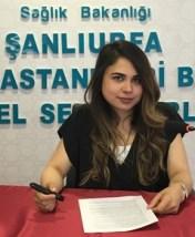 Şanlıurfa Mehmet Akif İnan Eğitim ve Araştırma Hastanesi Beslenme ve Diyet Uzmanı Gizem Sarıyıldız