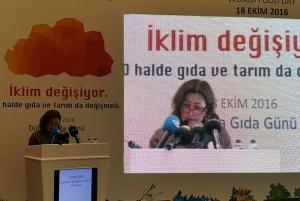 Birleşmiş Milletler (BM) Gıda ve Tarım Örgütü (FAO) Türkiye Temsilcisi Yuriko Shoji